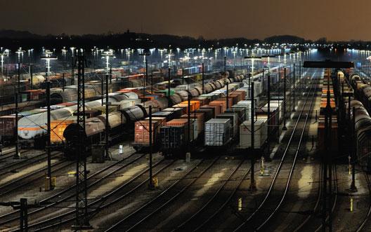 Verkehrsmittel für Export
