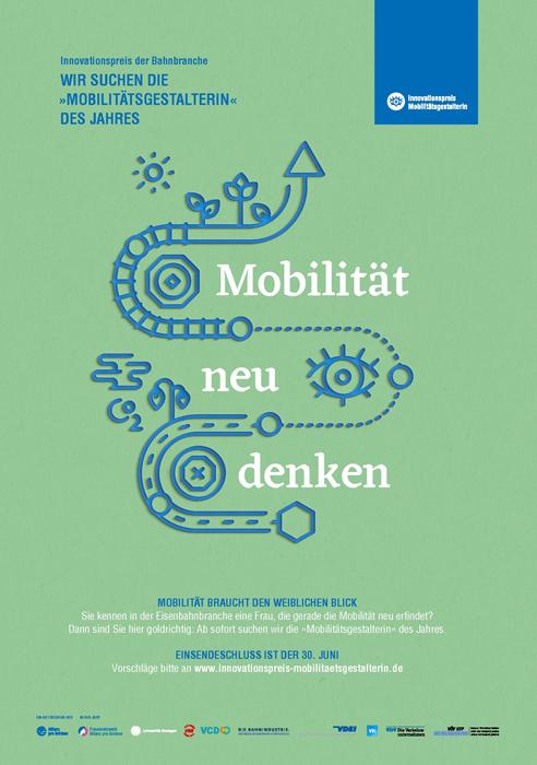 Plakat Innovationspreis Mobilitätsgestalterin