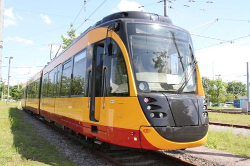 Straßenbahn KVV