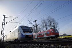Zwei Regionalzüge