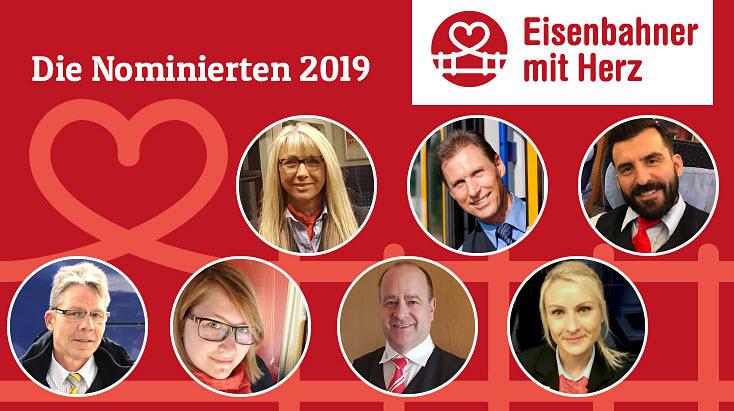 Eisenbahner mit Herz - Die Nominierten 2019