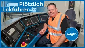 Plötzlich Lokführer, Folge 1. Allianz pro Schiene