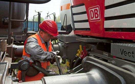 DB Schenker Rail Polska - Vorbereitung Zugfahrt
