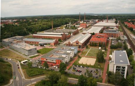 Technische Hochschule Wildau, Luftaufnahme
