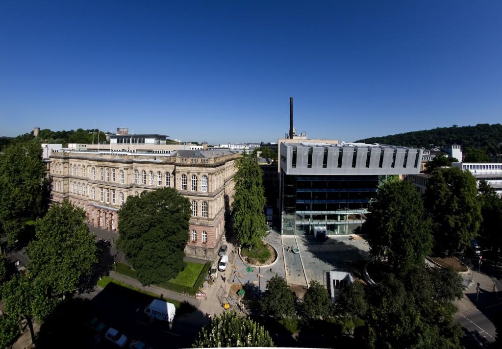 RWTH Hauptgebäude und SuperC