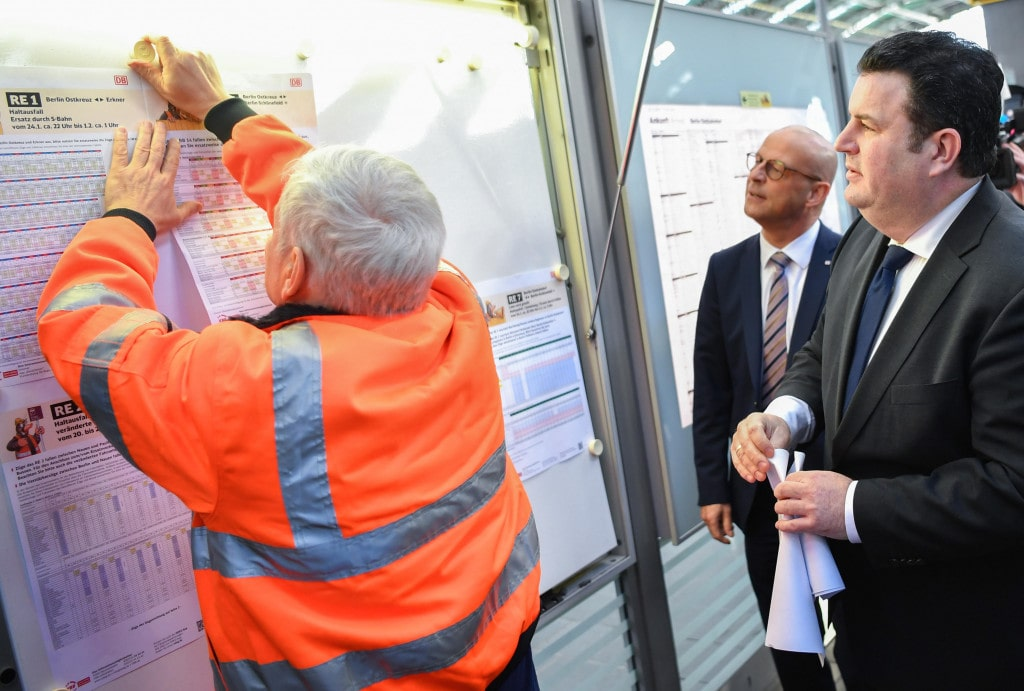 Integration von Langzeitarbeitslosen bei der Bahn