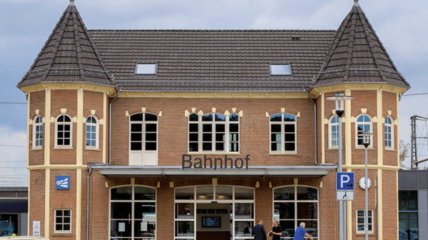 Bad Bentheim: Bahnhof des Jahres 2019