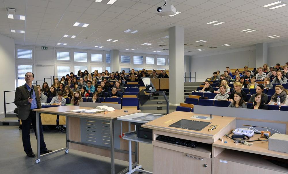 Fachhochschule Münster, Hörsaal während Vorlesung