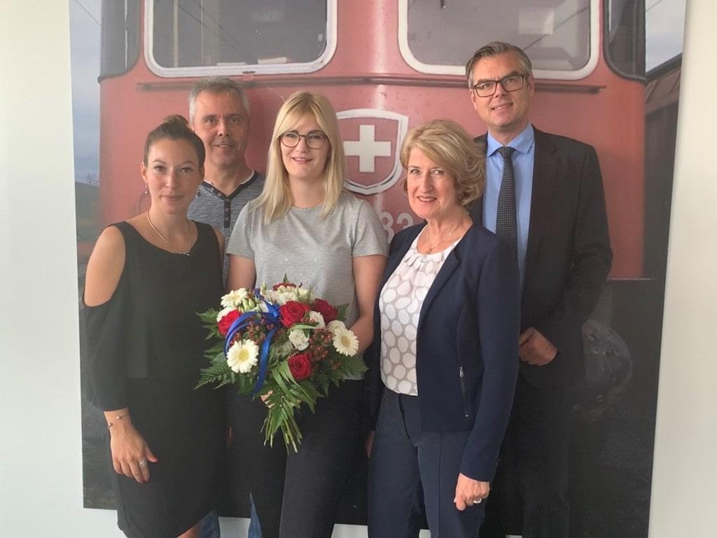 Nadine Pätz 100. Lokführerin - SBB Cargo Deutschland GmbH