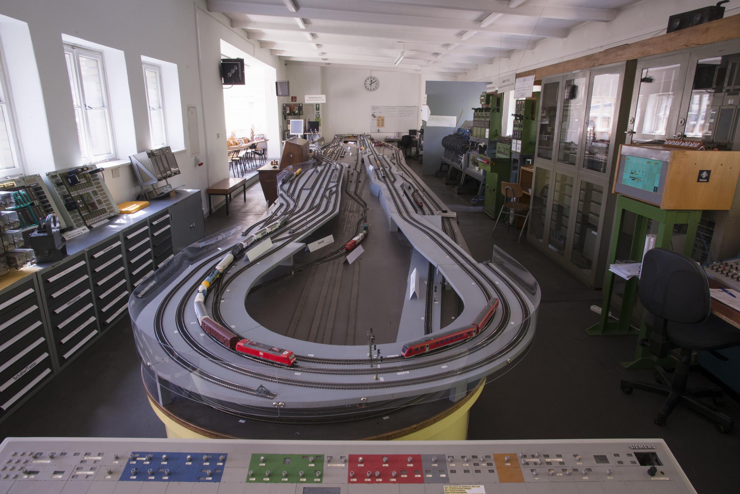 Eisenbahn-Betriebs- und Experimentierfeld EBuEF der TU Berlin