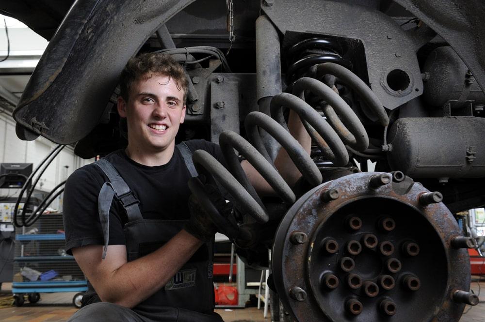 Werkstattmitarbeiter der Stadtwerke Gütersloh, VDV