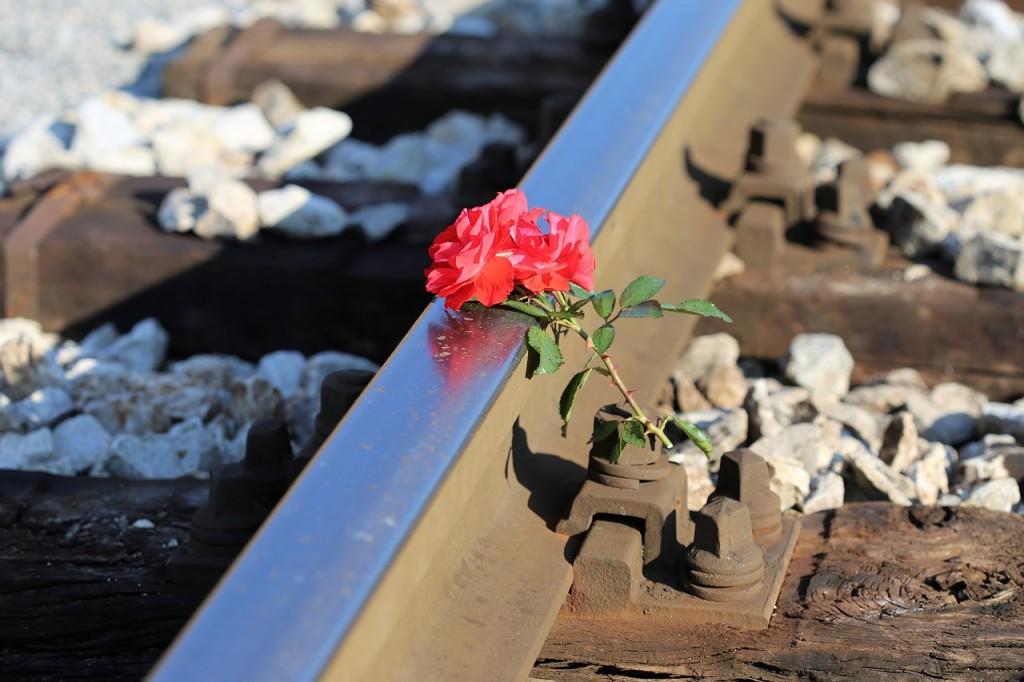 Personenunfall Bahn