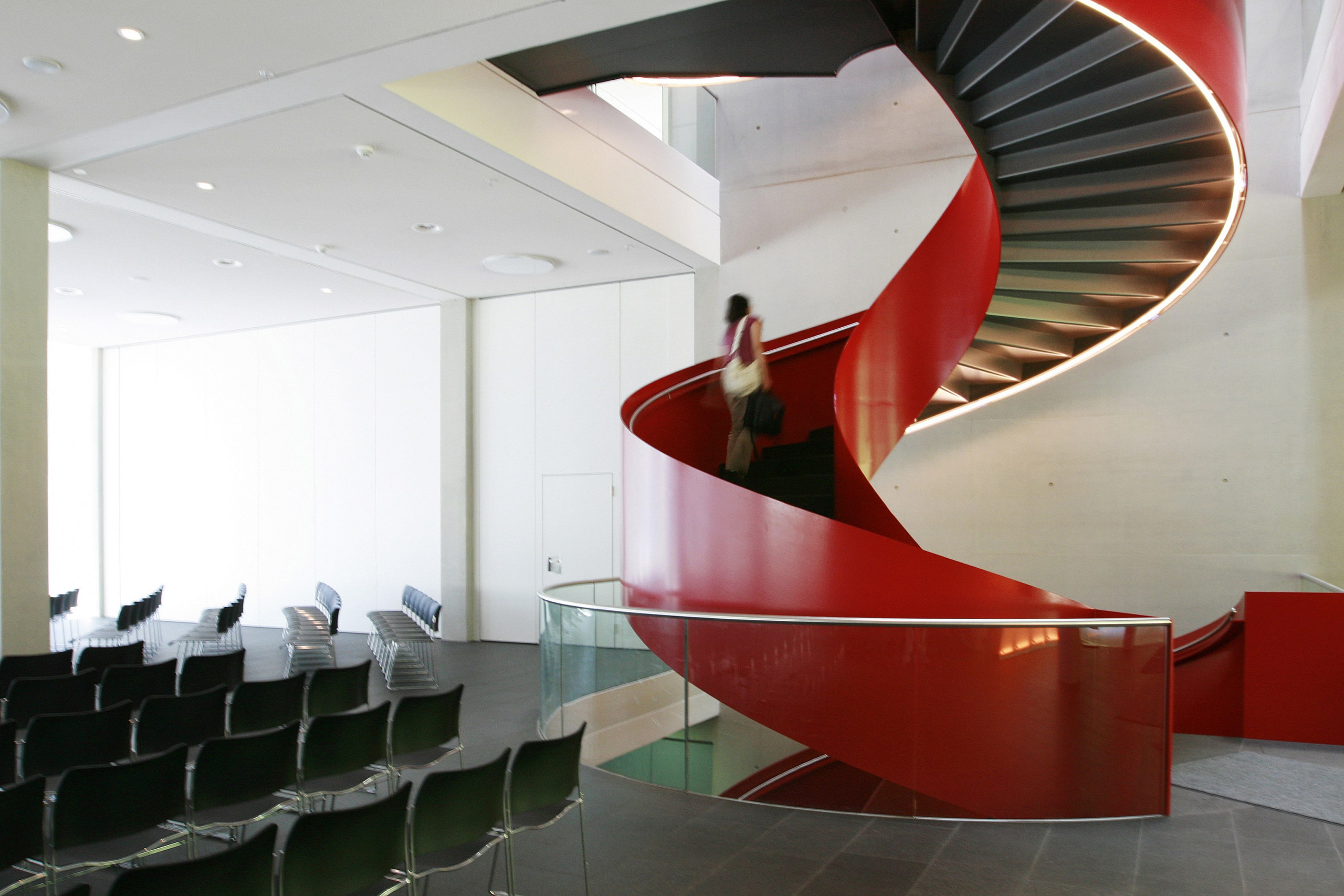 rote Wendeltreppe, Zeppelin Universität