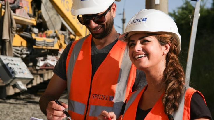 Bauarbeiter Spitzke